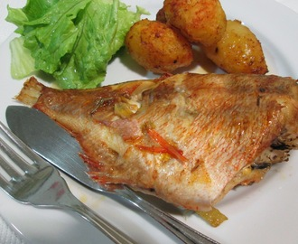 Red Fish no Forno