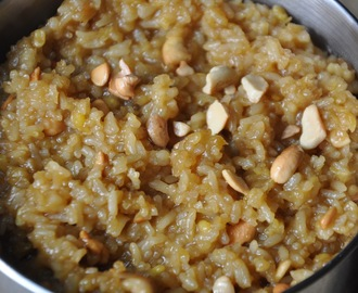 Chakkarai/Sweet Pongal for Blog Hop