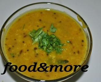 Recipe : Cholar Dal/Bengali Dal