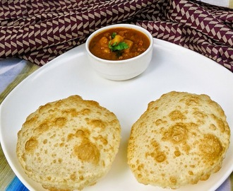 LUCHI I MAIDA POORI I NORTH INDIAN DEEP FRIED BREAD