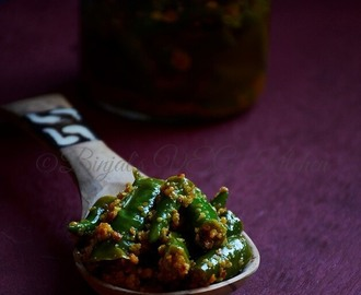 Instant Green Chilli Pickle