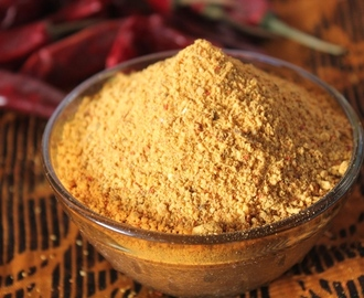 Bachelor Sambar Powder Recipe / Instant Sambar Powder Recipe
