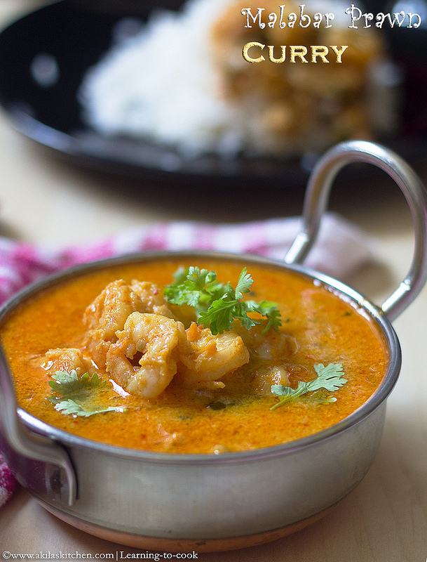 Malabar Prawn Curry | How to make Malabar Shrimp Curry | Indian Malabar Prawn Curry | Prawn Recipes | Shrimp Recipes | Sunday Special Recipes