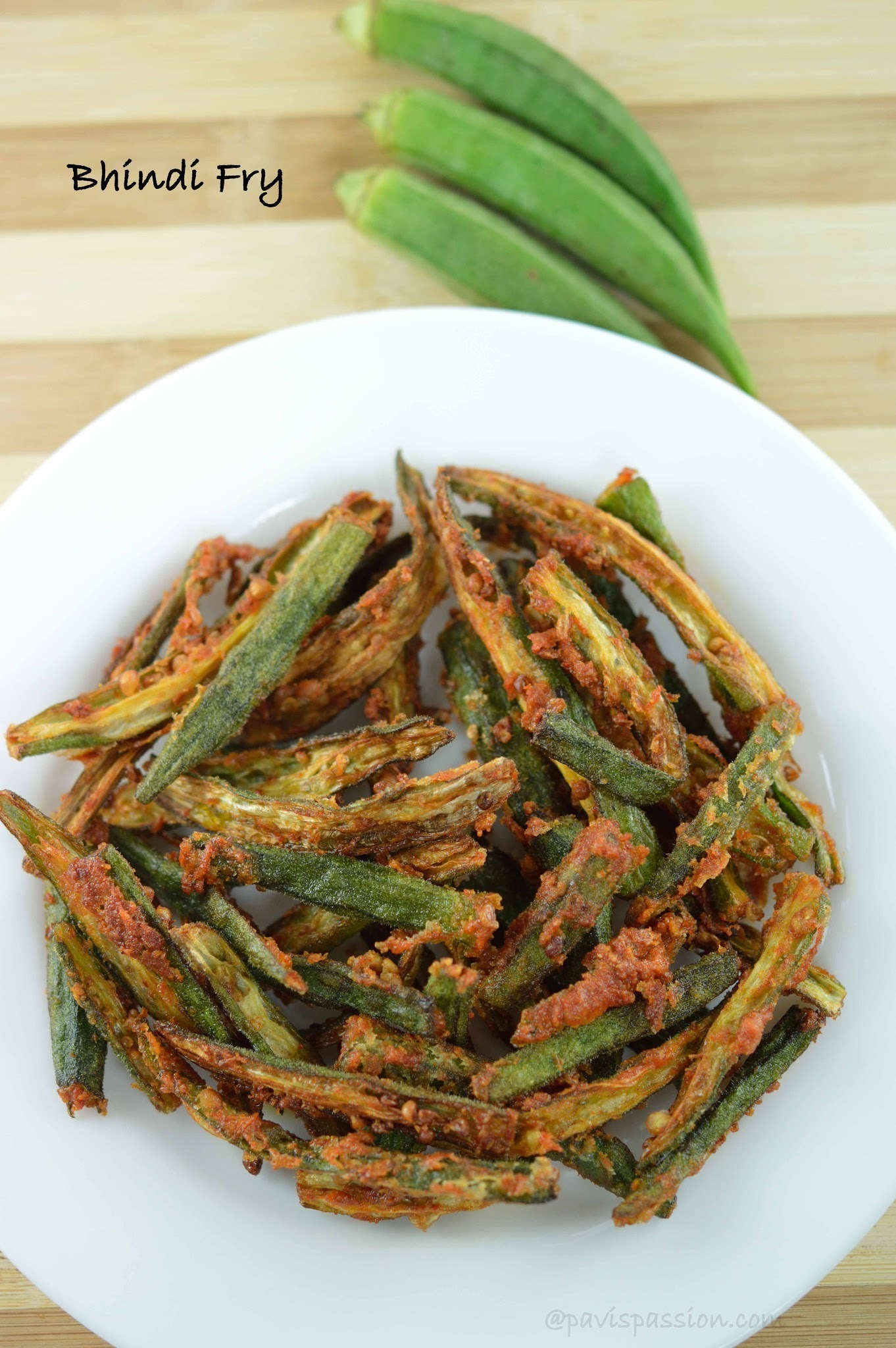 Bhindi Fry | Okra Fry | Vendakkai Varuval | How to make Lady Finger Fry