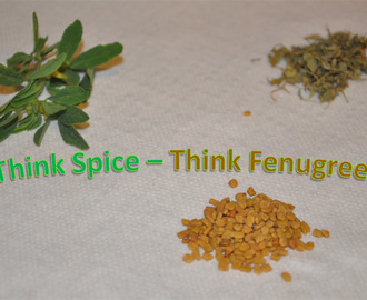 Roundup of Think Spice - Think Fenugreek Event
