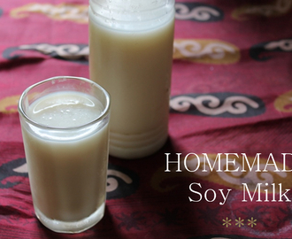 Homemade Soy Milk Recipe / Soy Milk Recipe / How to Make Soy Milk at Home