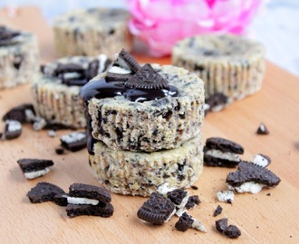 Mini Oreo Cheesecakes ♡