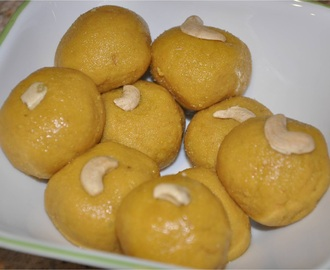Besan Laddoo and Boorelu