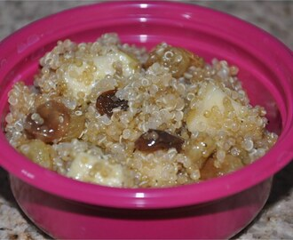 Quinoa and Apple - Raisin - Almond Salad