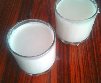 Homemade Coconut Milk | How to make coconut milk at home