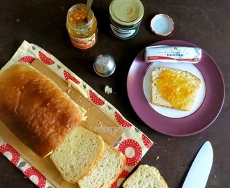 Eggless Basic White Bread Recipe