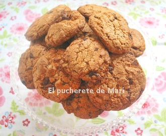 COOKIES DE CHOCOLATE Y CEREALES