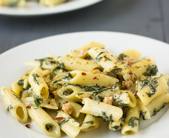 Spinach Cream Pasta | Revisiting Through the Lens Series – 14