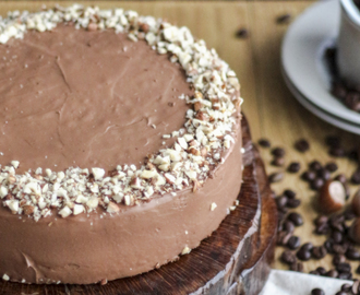 Bolo de Chocolate, Café e Avelãs | Chocolate, Coffee & Hazelnuts Cake