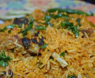 Pressure Cooker Mutton Biryani Recipe...