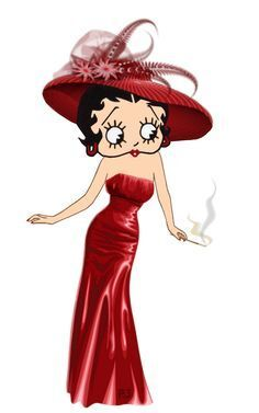 Bild: 321 best Betty Boop Xmas images on Pinterest | Betty boop, Bb and ...
