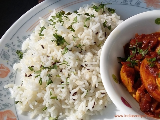 Jeera Rice – How to make Jeera Rice in restaurant style.