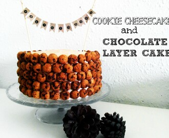 "cookie cheesecake&chocolate layer cake y...queréis un curso con ""miss tartas""???"