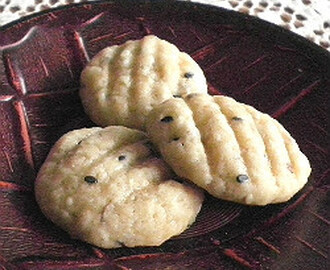 BANANA BUTTER COOKIES (EGGLESS)