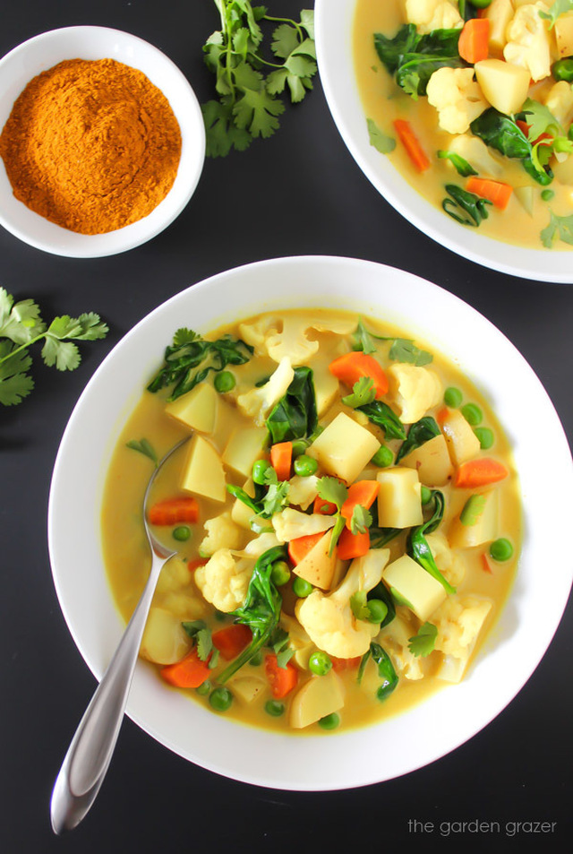Vegetable Curry Soup (30 minute!)