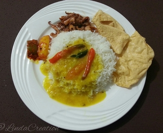 Simple Meal ( Thali # 2 )
