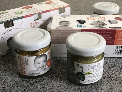 Babyled Spreads - baby food review