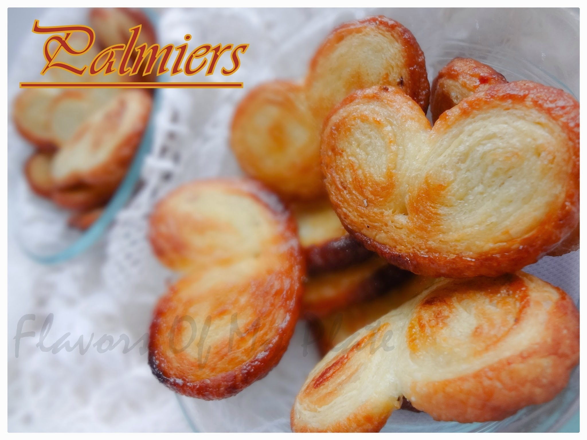 Palmiers.......Cute Little Hearts Cookies
