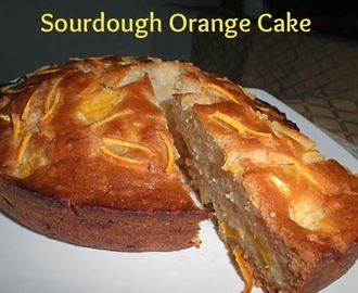 SOURDOUGH ORANGE CAKE