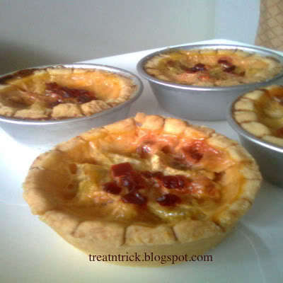 BANANA CUSTARD PIE, EGGLESS
