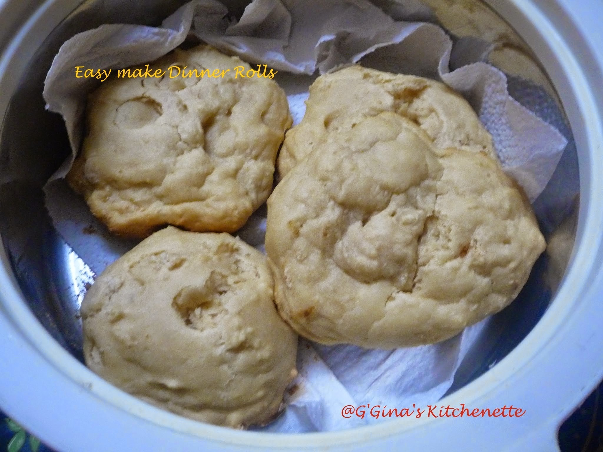 Easy make Dinner bread rolls