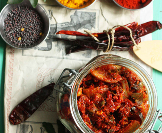 Nimbu Ka Achaar | Simple Spicy Indian Lemon Pickle Recipe