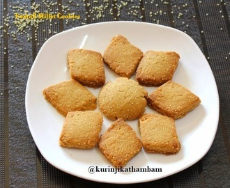 Foxtail Millet Cookie / Thinai Biscuit | Foxtail Millet Recipes