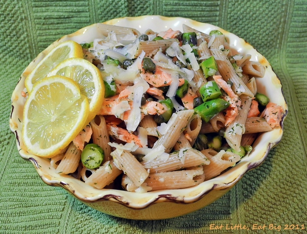 Recipe for Lemony Salmon and Dill Toss