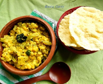 Kootu Curry/ Mixed Vegetables and chana dal in coconut gravy