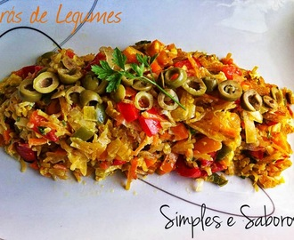 Brás de Legumes - #Meatless Monday