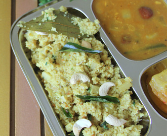 Kuthiravali Pualo - barnyard millet Pulao - barnyard millet Pulav - Millet Recipes - Simple and healthy Dinner or lunch recipes