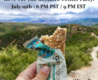 RSVP For The GoMacro Twitter Party! (6/21/17 - 9 PM EST)