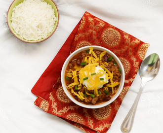 Chili con carne with a mexican twist