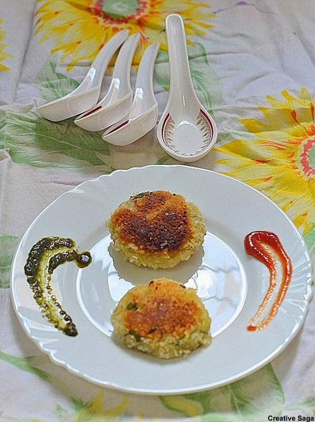 Aval cutlet recipe- Poha cutlets- Kids snack recipes