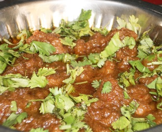 Mutton Do Pyaz(Mutton/Lamb in a spicy onion based curry)