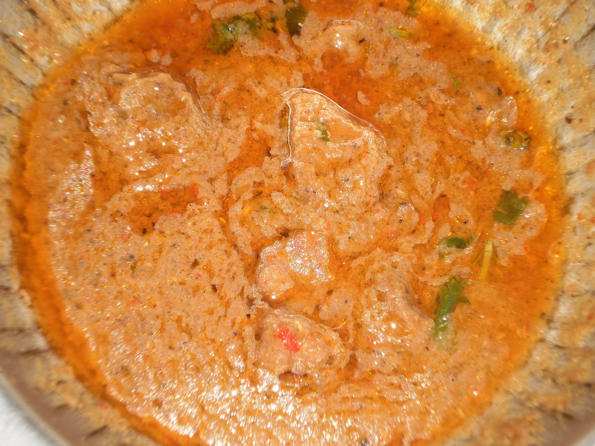 Mughlai Korma (Lamb/Mutton in a spicy sauce)