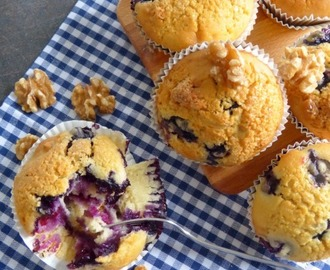 Blueberry Muffins by Tanya Burr with extra portion Walnuts and...
