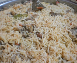 Mutton Biryani South Indian style(Lamb Biryani)