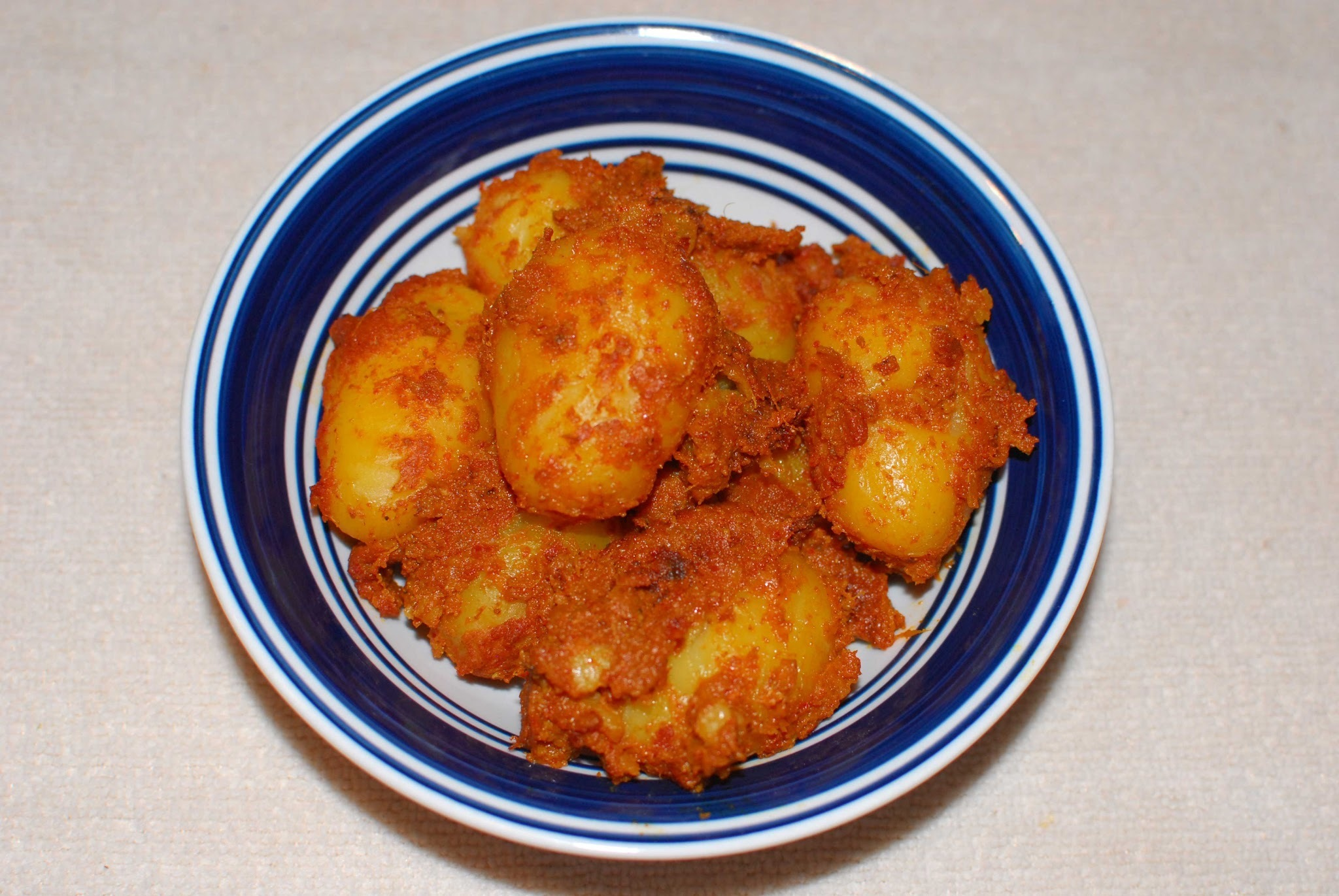 Baby Potato Masala fry
