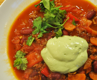 Chili con carne for kongen