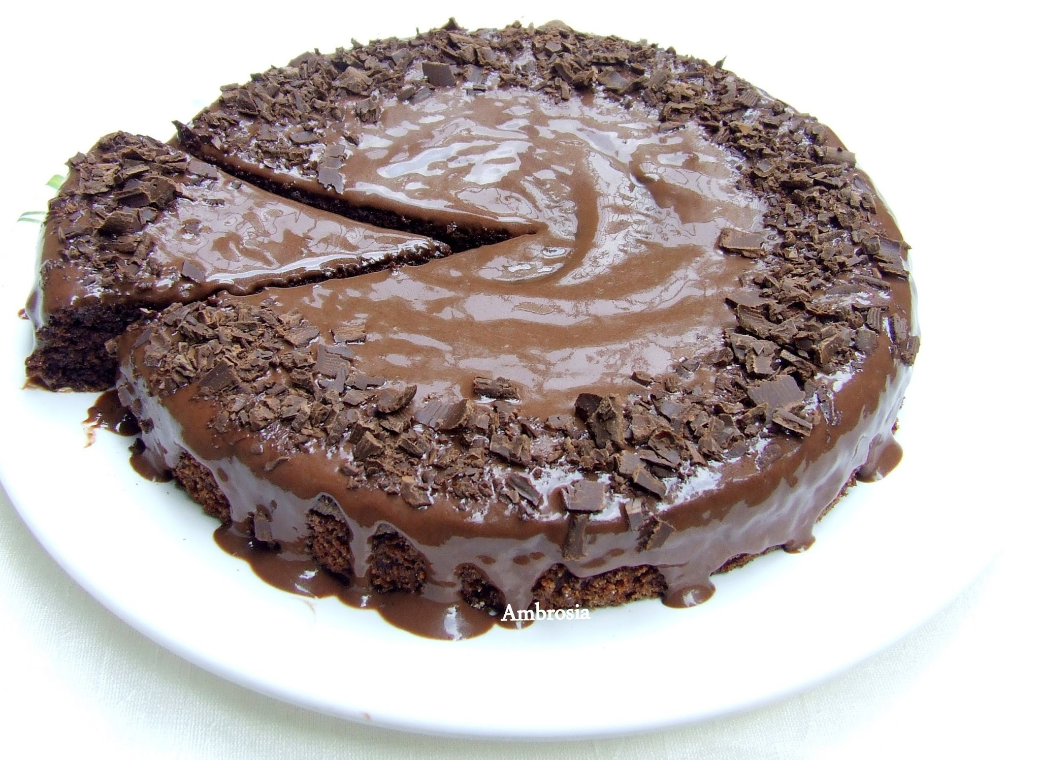 Chocolate Yogurt Cake (Whole wheat, Egg less and Butter free)