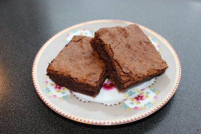 Saftige Brownies