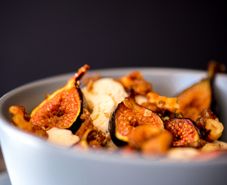 The Sweet Rebellion wrote a new post, Roasted Figs with Walnut Maple Ice Cream, on the site The Sweet Rebellion