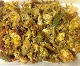 Egg Bhurji (Scrambled Eggs)
