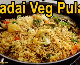 Pulao Recipe Video – Vegetable Pulao Recipe in Pan